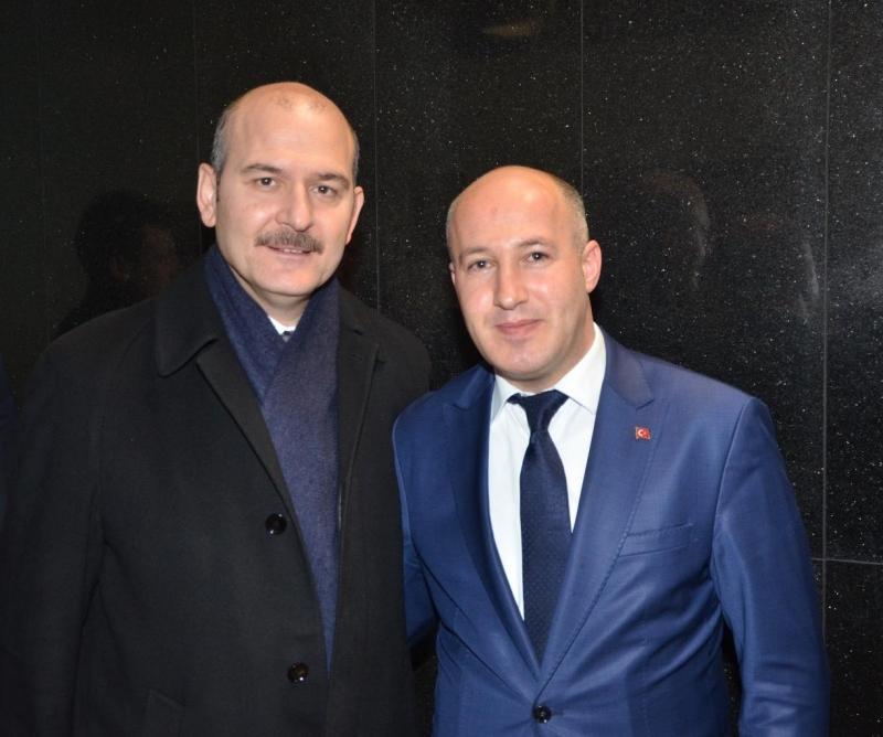 Güvenlik-İş Sendikası Genel Başkanı, Süleyman Soylu ile Görüştü