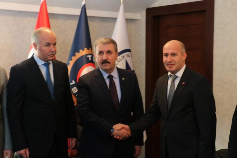 Mustafa Destici'den Güvenlik-İş Sendikasına Ziyaret.