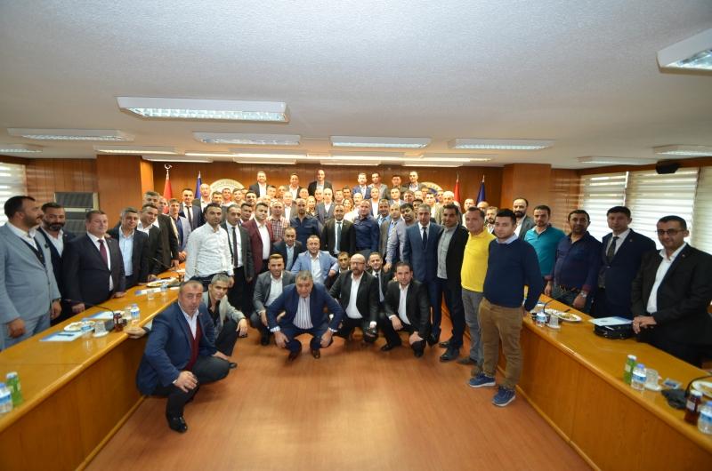Özel Güvenlik Görevlilerinden Türk-İş' e Ziyaret