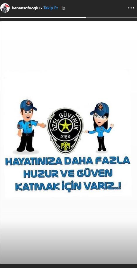 Ak Parti Milletvekili Kenan Sofuoğlu Özel Güvenlik Haftasını Kutladı