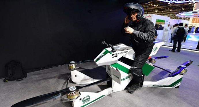 Dubai Polisi Uçan Araç Kullanacak
