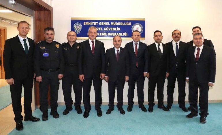 Emniyet Genel Müdürü Aktaş'tan Özel Güvenlik Denetleme Başkanlığı'na Ziyaret