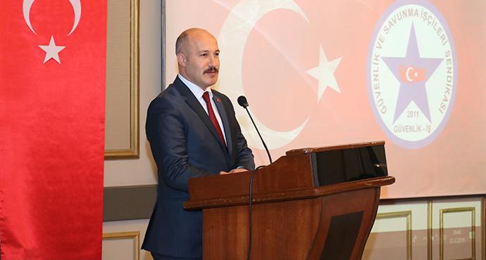 Güvenlik-İş Sendikası Genel Başkanı Ömer Çağırıcı'dan 1 Mayıs Çağrısı