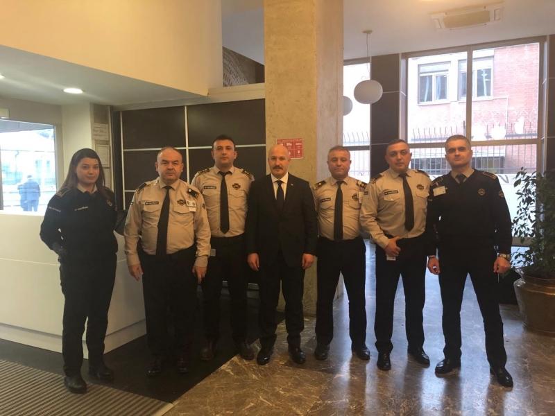 Güvenlik-İş Sendikasından VakıfBank YK Başkanı Abdülkadir Aksu'ya Ziyaret