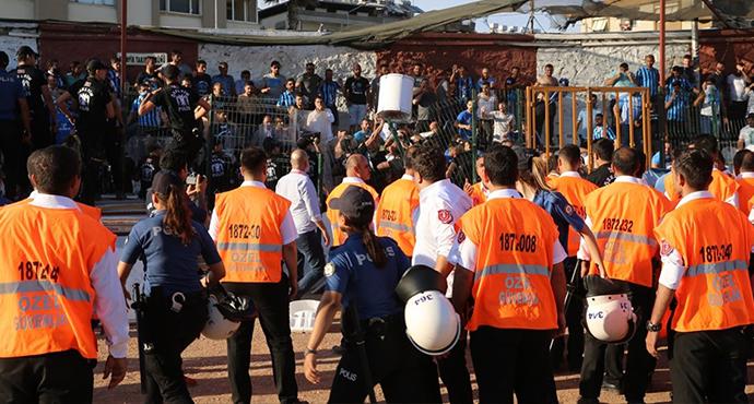 Hatayspor-Adana Demirspor Maçı Sonrası Olay Çıktı