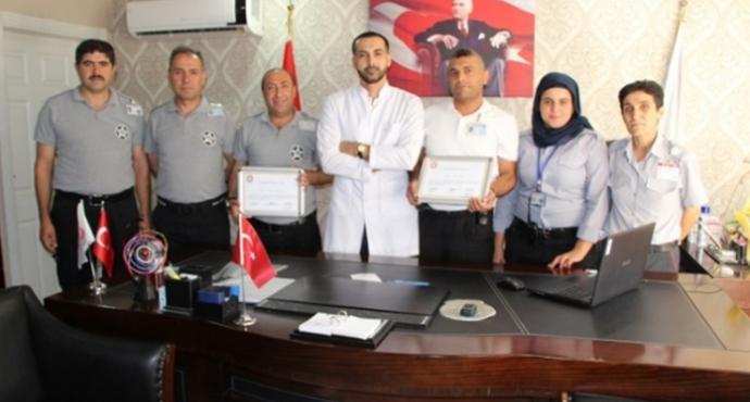 Urfa'da Para Bulan Özel Güvenlik Görevlilerine Ödül