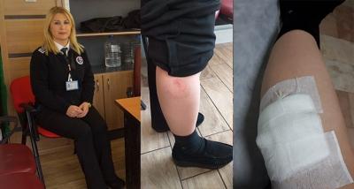 Acil Serviste Güvenlik Görevlisine Çirkin Saldırı