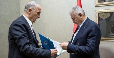 Türk-İş Başkanı Atalay'dan Binali Yıldırım'a Ziyaret