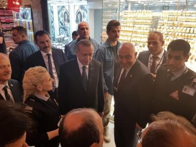 Cumhurbaşkanı Erdoğan Özel güvenlik görevlilerinin maaşını az buldu