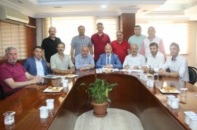 Güvenlik-İş Sendikası KOÜ'deki toplu iş sözleşmesi sorununa İlişkin açıklamalarda Bulundu