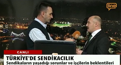 Güvenlik-İş Sendikası Genel Başkanı Ömer ÇAĞIRICI, Line TV 'ye Açıklamalarda Bulundu