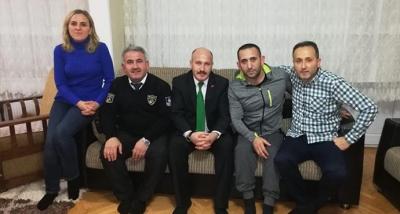 Güvenlik-İş Sendikasından, Özel Güvenlik Görevlisi Faruk Yavuz' a Geçmiş Olsun Ziyareti
