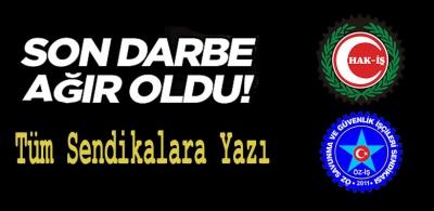 HAK-İŞ'ten Öz-İş'e Son Darbe!
