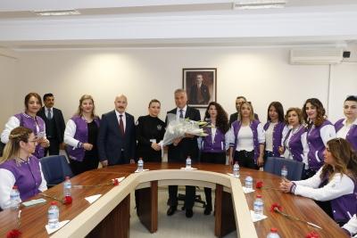 Kadın Güvenliklerden EGM Özel Güvenlik Denetleme Başkanlığına Ziyaret