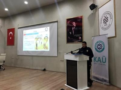 Kafkas Üniversitesi Güvenlik Görevlilerine Eğitim Verildi