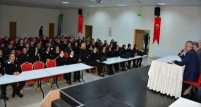 Karabük'te Okullarda Görevli Özel Güvenlik Görevlileri İle Toplantı Yapıldı.