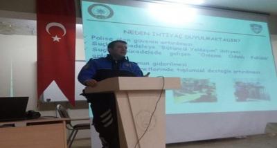 Muş Emniyet Müdürlüğü Özel Güvenlik Görevlilerine Eğitim Verdi
