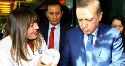 Özel Güvenlik Görevlisi Şennur Demir, Cumhurbaşkanı Erdoğan'a Verdiği Sözü Tuttu