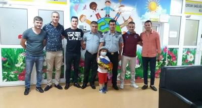 Özel Güvenlik Görevlilerinden Çocuk Onkoloji'ye Bayram Ziyareti