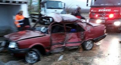 Özel Güvenlik Görevlileri İşe Giderken Kaza Yaptı: 1 Ölü 1 Yaralı