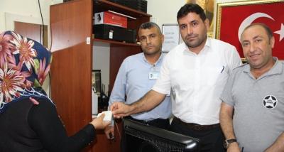Özel Güvenlik Görevlileri Buldukları Cüzdanı Sahibine Teslim Etti