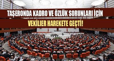 Taşeronda Kadro ve Özlük Sorunları İçin 20 Milletvekili Harekete Geçti