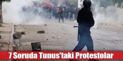 Tunus Protestoları'nın Ardında Yatan Gerçek Nedir? 7 Soruda Tunus'taki Protestolar