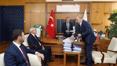 Türk-İş'ten Naci Bostancı'ya 'Yeni Vergi Düzenlemesi' Ziyareti