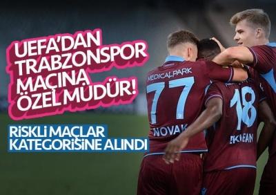 UEFA Trabzonspor maçına özel güvenlik müdürü atadı!