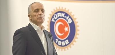 Ergün ATALAY, YOL-İŞ Sendikası Toplantı Salonu