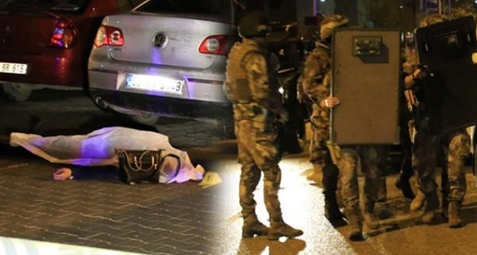 Ankara'da kadın cinayeti: Önce vurdu sonra rehin aldı, Özel Güvenlik Görevlisine Tehditler Savurdu