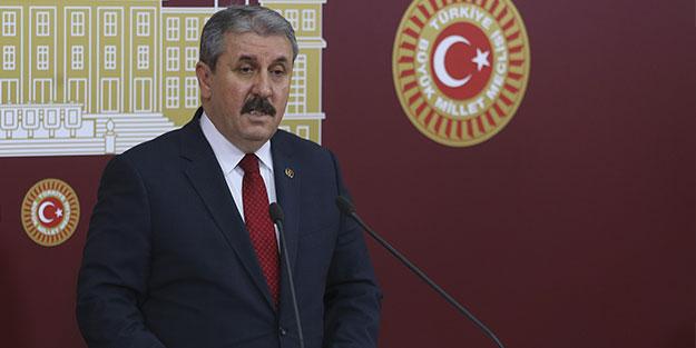 BBP Genel Başkanı Destici Özel Güvenlik Günü ve Haftasını Kutladı