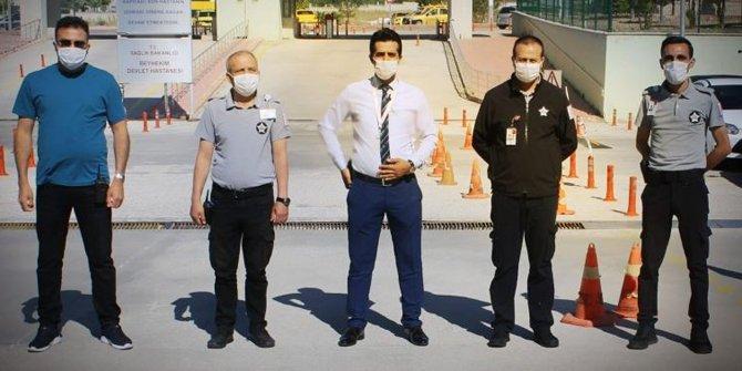 Beyhekim'de Güvenlik Görevlileri Unutulmadı