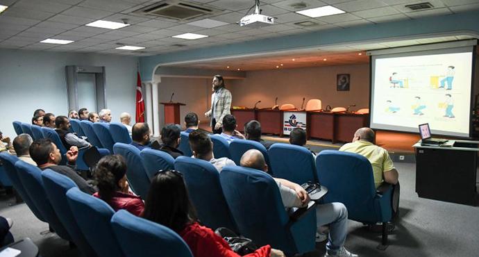 EGO'da Görevli Personele 'İş Sağlığı ve Güvenliği' Eğitimi