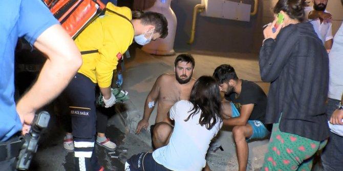 Gaspçılara Müdahale Eden Polis ve Özel Güvenlik Görevlisi Bıçaklandı