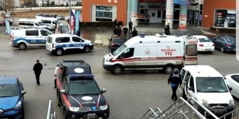 Güvenlik görevlisi soygun girişimini son anda önledi