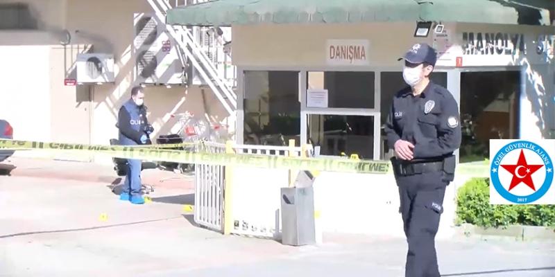 Güvenlik Görevlisi Silahla Öldürüldü