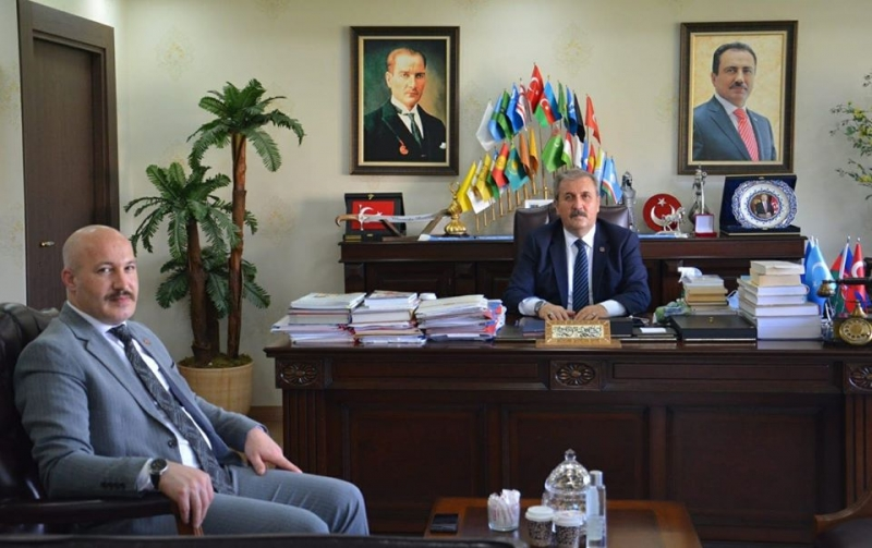 Güvenlik-İş Genel Başkanı Çağırıcı'dan BBP Genel Başkanı Destici'ye Ziyaret