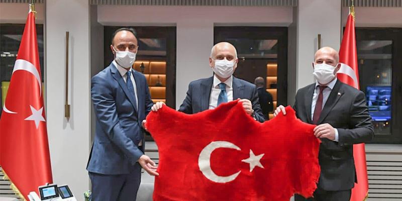 Güvenlik-İş Sendikasından Ulaştırma ve Altyapı Bakanı Karaismailoğlu'na Ziyaret