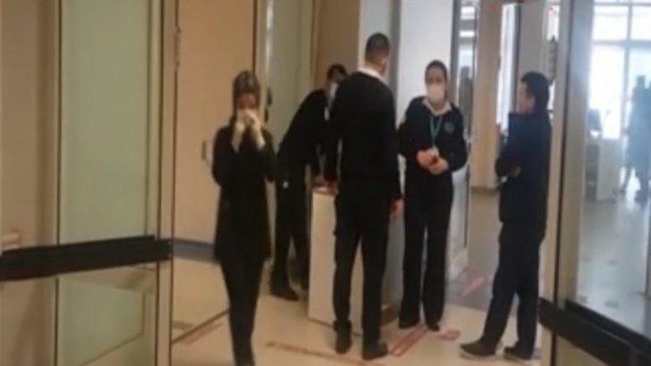 Hastane Özel Güvenlik Görevlileri Maske Kullanmaya Başladı