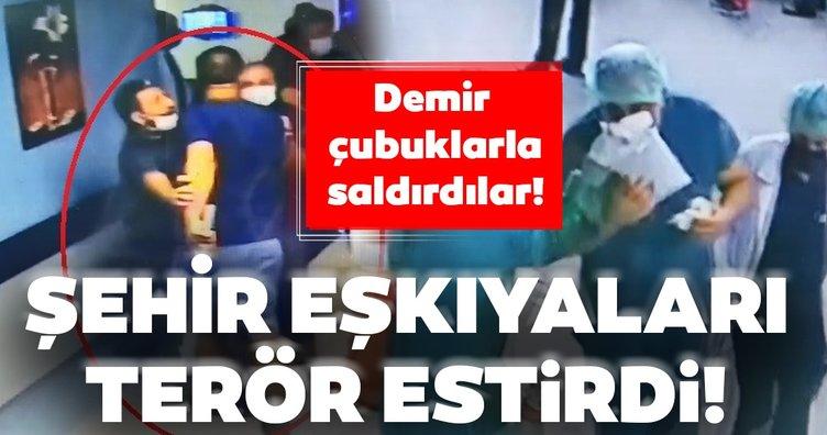 Hastanede Terör Estiren Refakatçi, Güvenlik Görevlisini ve Başhekimi Yaraladı