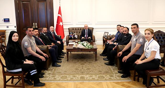 İçişleri Bakanı Soylu Özel Güvenlik Haftasını Kutladı