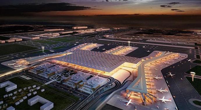 İstanbul Yeni Havalimanı'na Yapılan İş Başvurusu Rekor Kırdı