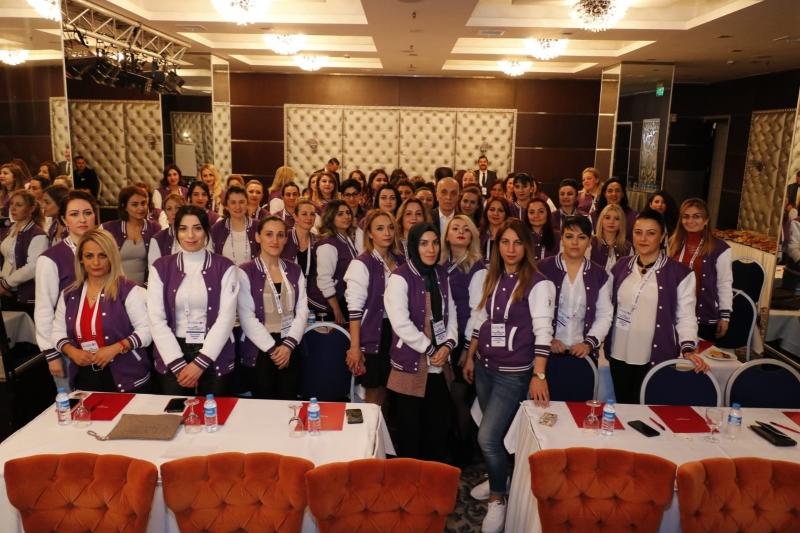 Kadın Özel Güvenlikler Güvenlik-İş Sendikasının Etkinliğinde Buluştu