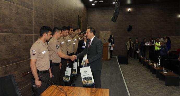 Kars'ta Başarılı Bekçiler ve Özel Güvenlik Görevlilerine ödül!