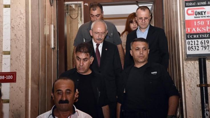 Kılıçdaroğlu'ndan İntihar Eden Özel Güvenlik İbrahim Layık'ın Ailesine Taziye Ziyareti