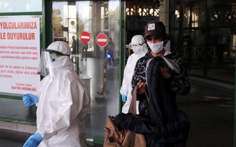 Koronavirüs Şüphelisi Otogarda Yakalandı