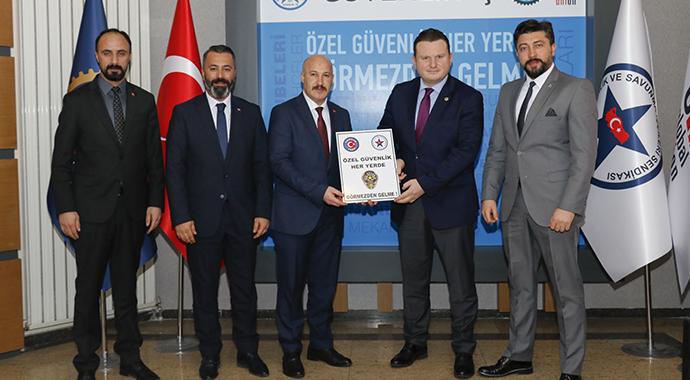 MHP Grup Başkanvekili Bülbül'den Güvenlik-İş Sendikasına Ziyaret