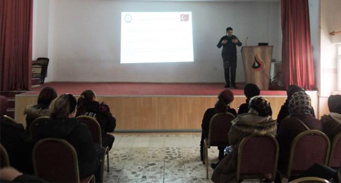 Okullarda Görev Yapan Özel Güvenlik Görevlilerine Eğitim Verildi