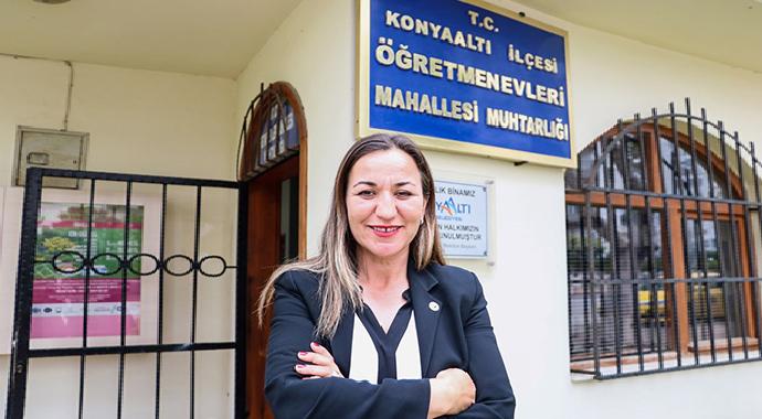 Okulun Güvenlik Görevlisi, Mahallenin İlk Kadın Muhtarı Oldu